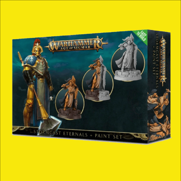 Warhammer Age of Sigmar Stormcast Eternals + Paint Set