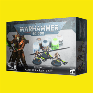 Warhammer 40,000: Necrons: Warriors + Paints Set