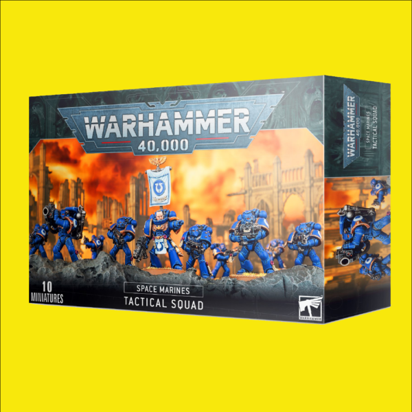 Warhammer 40,000: Space Marines Tactical Squad