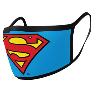 Face covering pack of 2 - Superman