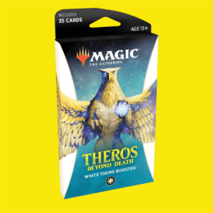 Magic The Gathering: Theros Beyond Death Theme Booster - White